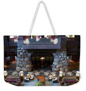 Disneyland Grand Californian Hotel Fireplace 01 Weekender Tote Bag