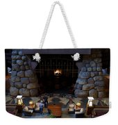 Disneyland Grand Californian Hotel Fireplace 02 Weekender Tote Bag