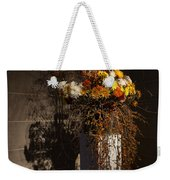 Displaying Mother Nature's Autumn Abundance Of Flowers And Colors Weekender Tote Bag