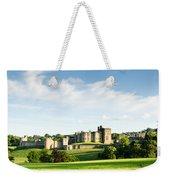 Distant Alnwick Castle Weekender Tote Bag