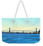 Distant Bridges Weekender Tote Bag
