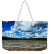 Distant Hot Springs Weekender Tote Bag