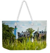 Distant Light House Weekender Tote Bag