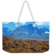 Distant Peaks Weekender Tote Bag