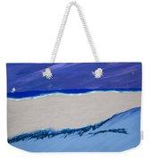 Distant Sailboat Weekender Tote Bag