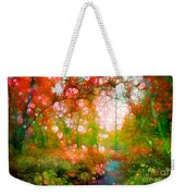 Distortions Of Autumn Weekender Tote Bag