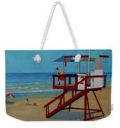 Distracted Lifeguard Weekender Tote Bag