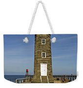 Disused East Pier Lighthouse - Whitby Weekender Tote Bag