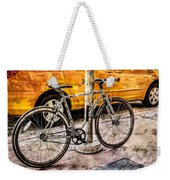 Ditchin' The Taxi To Ride Weekender Tote Bag