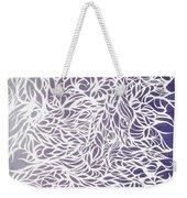Divergant Purple Weekender Tote Bag