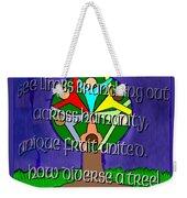 Diversity Tree Weekender Tote Bag