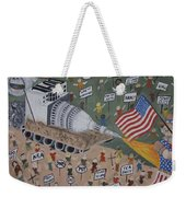 Divided We Stand Weekender Tote Bag