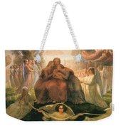 Divine Genesis Weekender Tote Bag