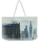 Divine Lorraine And City Hall - Philadelphia Weekender Tote Bag