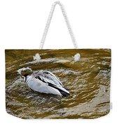 Diving Duck Weekender Tote Bag