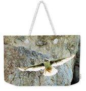 Diving Falcon Weekender Tote Bag