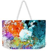 Djinn Blows ... Dove Floating In The Wind Weekender Tote Bag