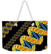 Dna Strand - Dna Strands Art - Genetics Genetic - Gene Genes - Conceptual - Abstract Illustration Weekender Tote Bag