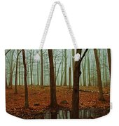 Do We Dare Go Into The Woods Weekender Tote Bag by Karol Livote