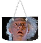 Doc Brown Weekender Tote Bag