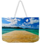 Dock And Beautiful Water Weekender Tote Bag