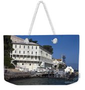 Dock At Alcatraz Island Weekender Tote Bag