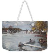 Dock At The Bay North Tonawanda Weekender Tote Bag