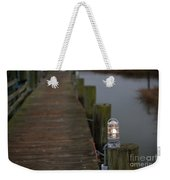 Dock Light Weekender Tote Bag