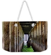 Dock Of The Bay Weekender Tote Bag by Bill Gallagher