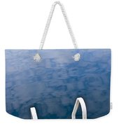 Dock On Calm Lake In Cottage Country Weekender Tote Bag by Elena Elisseeva