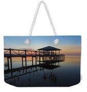 Dock On The Bay Weekender Tote Bag