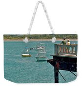Dock Overlooking Quepos Bay-costa Rica Weekender Tote Bag