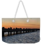 Dock Side Weekender Tote Bag