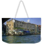 Docks On The Grand Canal Weekender Tote Bag