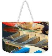 Dockside Parking Weekender Tote Bag