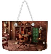 Doctor - Desk - The Physician's Office  Weekender Tote Bag by Mike Savad