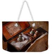 Doctor - Hospital Knapsack  Weekender Tote Bag by Mike Savad