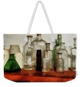 Doctor - Medicine Bottles Tall And Short Weekender Tote Bag