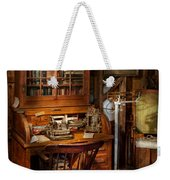 Doctor - My Tiny Little Office Weekender Tote Bag by Mike Savad