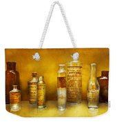 Doctor - Oil Essences Weekender Tote Bag by Mike Savad
