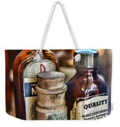 Doctor The Mercurochrome Bottle Weekender Tote Bag by Paul Ward
