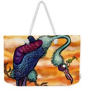 Doctor Vultura Weekender Tote Bag by Kelly Jade King