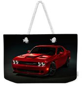 Dodge Challenger S R T Hellcat Weekender Tote Bag