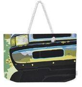 Dodge Ram With Green Hue Weekender Tote Bag