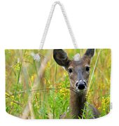 Doe In Morning Dew Weekender Tote Bag