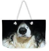 Dog Close Up Weekender Tote Bag