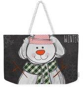 Dog Days  Weekender Tote Bag by Linda Woods