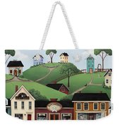 Dog Days Of Summer Weekender Tote Bag by Catherine Holman