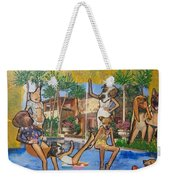 Dog Days Of Summer Weekender Tote Bag