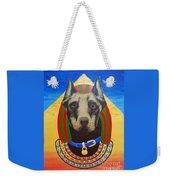 Dog God Weekender Tote Bag